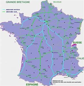 Les Autoroutes En France : info trafic ~ Medecine-chirurgie-esthetiques.com Avis de Voitures