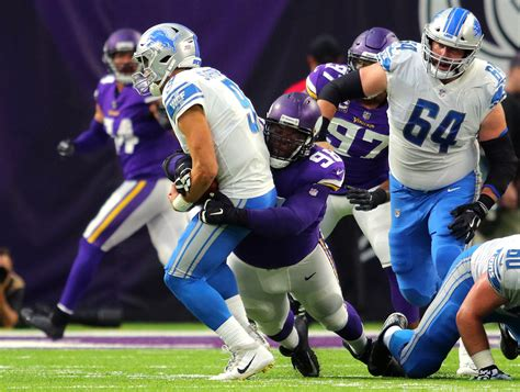 minnesota vikings  detroit lions schmidts week  game