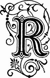 image of the letter r Letter ClipArt ETC