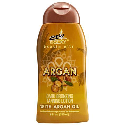 Zero Sexy Argan Dark Bronzing Tanning Lotion