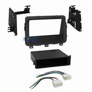 Car Radio Stereo Single Double Din Dash Kit Harness For