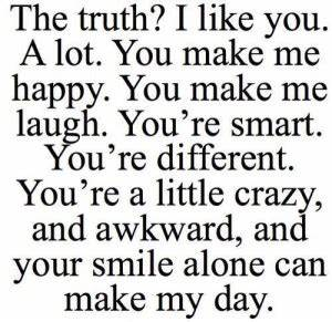 Cute I Like You Quotes For Her. QuotesGram