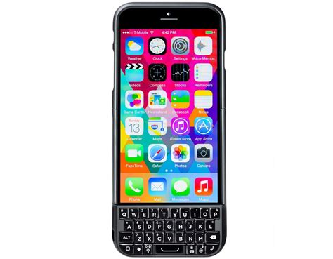 iphone 2 typo 2 physical keyboard for iphone 6 5s and 5 now shipping