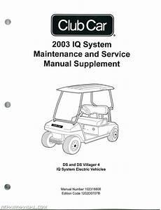 2003 Club Car Iq System Maintenance