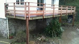 construction d39une terrasse With construction d une terrasse bois