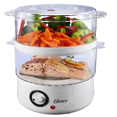 steamer cuisine oster 5 qt food steamer white shop your way