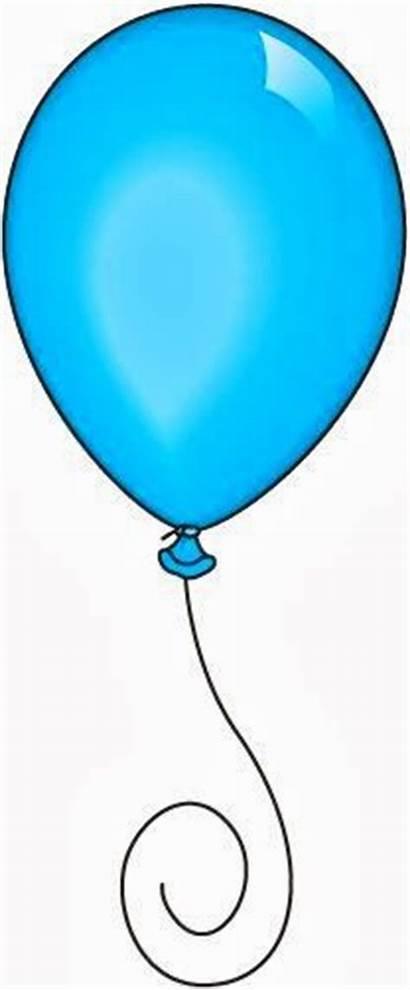 Balloons Balloon Birthday Clip Clipart Happy Single