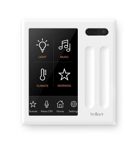 homekit is coming to brilliant s 299 wall mounted smarthome controller
