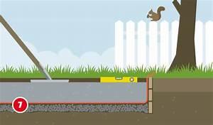 Feuchtigkeitssperre Auf Bodenplatte : fundament im gartenhaus selber bauen ~ Lizthompson.info Haus und Dekorationen