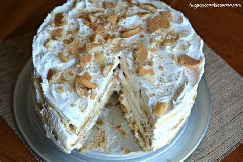 banana ice box cake recipe cakes icebox cake cake