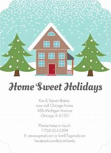 wintery home holiday moving announcement 3801 holiday With holiday moving announcements