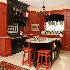 25 modern ideas to make kitchen design dynamic and unique With kitchen cabinet trends 2018 combined with red sticker season