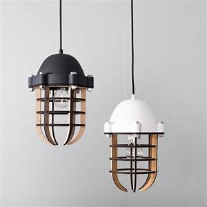 Luminaire 3 Suspensions : luminaire suspension m tal et bois zuiver navigator by drawer ~ Teatrodelosmanantiales.com Idées de Décoration