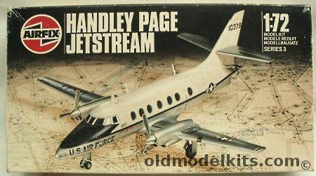 airfix  hp bae jetstream    usaf
