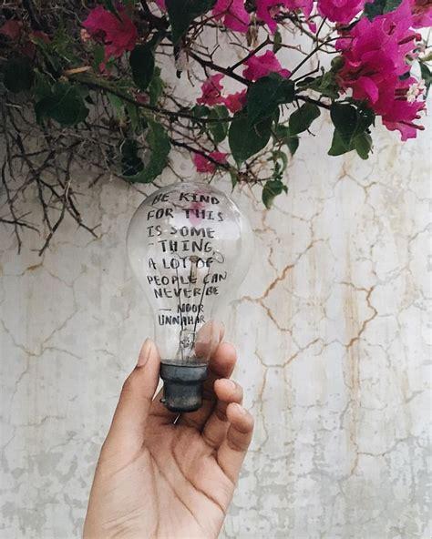 kindness   poetry piece    older bulb