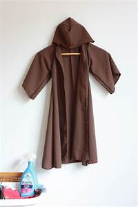 diy jedi robe for kids one little minute blog With diy robe