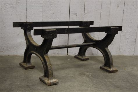 cast iron table legs small industrial cast iron legs shop industrial