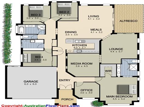 bedroom plans 4 bedroom ranch house plans 4 bedroom house plans modern