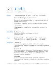 resume template free microsoft 7 free resume templates primer
