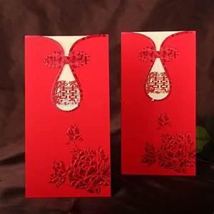 20 pcs lot laser cut wedding invitation cards kit chinese With blank chinese wedding invitations