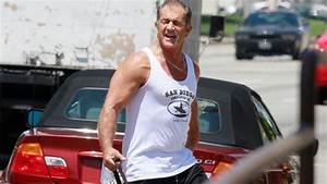 Mel Gibson Flexes His Muscles Next to His BMW 3 Series ...