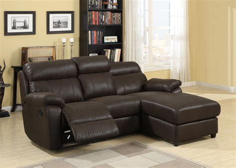 apartment size reclining sofa homelegance gaines sectional sofa brown bomber jacket