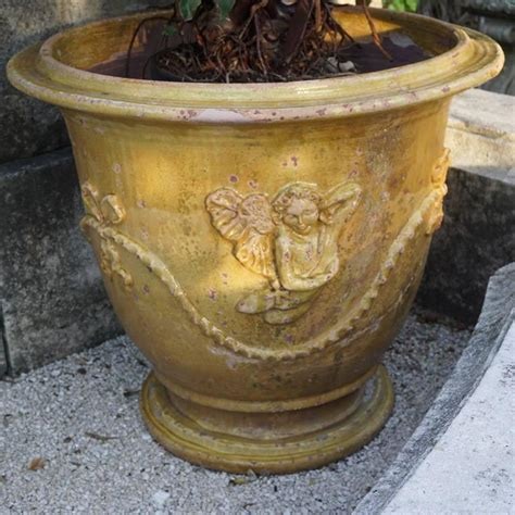 pair of anduze planter pots from provence for sale at 1stdibs