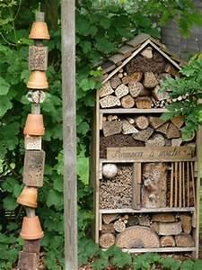 Nichoir A Insecte : abris h tels nichoirs invitons les insectes au jardin ~ Premium-room.com Idées de Décoration