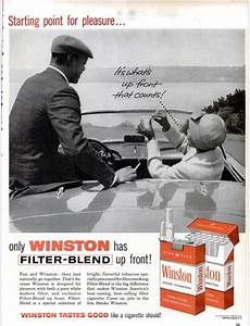 Suggestive Winston Ads from 1960 - Vintage Ads