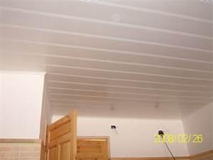 Faux Plafond Pvc : faux plafond en pvc ~ Melissatoandfro.com Idées de Décoration