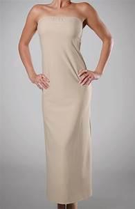 Full length slip strapless bra hot girls wallpaper for Full length slip for wedding dress