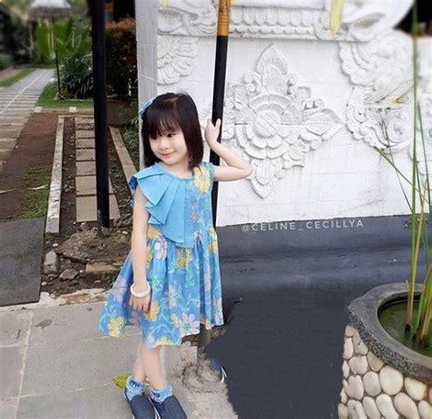 style model baju batik anak laki laki perempuan
