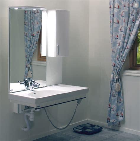 electronic height adjustable bathroom sink