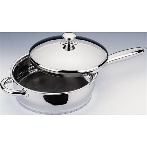 shop heavy duty   covered skillet  shipping today overstock