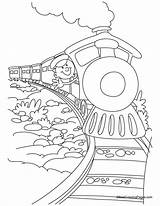 Coloring Train Pages Polar Express Pacific Potty Union Printable Sheets Trains Adult Bullet Rim Training Christmas Sheet Cartoon Boys Caboose sketch template