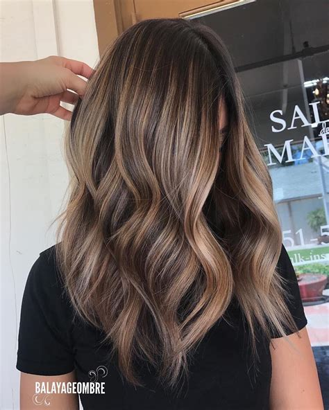 medium layered hairstyles  brown ash