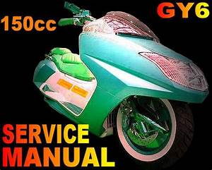 150 150cc Gy6 Qmb  Qmj Chinese Scooter Service Repair