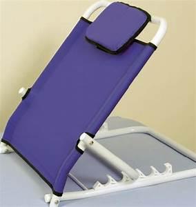 adjustable backrest for bed back therapy back support With adjustable back support for bed