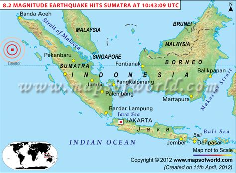 geology  motion  earthquake strikes indonesias