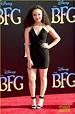 Ruby Barnhill Brings 'The BFG' to Hollywood | Photo 987260 ...
