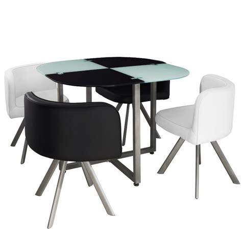 Table Et Chaises by Table Scandinave Et Chaises Vintage 90 Blanc Et Noir Pas