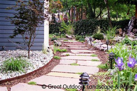 flagstone pathways photos denver colorado landscaping flagstone patios stairs pathways