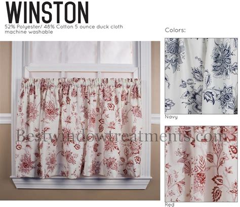 winston toile tier curtains bestwindowtreatments