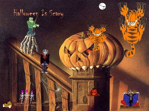 The Smashing Pumpkins Disarm Meaning by 3 Garfields Halloween Adventure 1985 Holiday Film