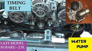 Subaru Timing Belt Replacement Including Water Pump And