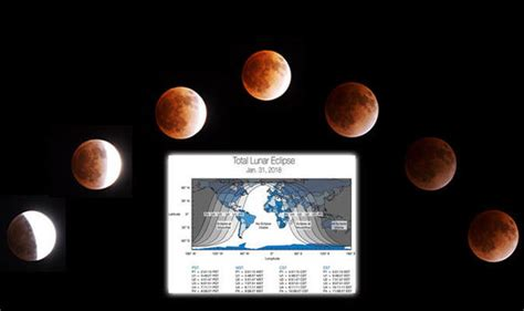 What Time Is The Super Blue Blood Moon