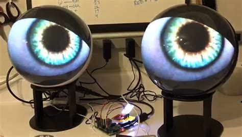 strange eyes      raspberry pi