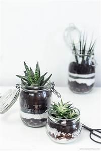 Terrarium Plante Deco : diy d tourner des bocaux en terrariums green ~ Dode.kayakingforconservation.com Idées de Décoration