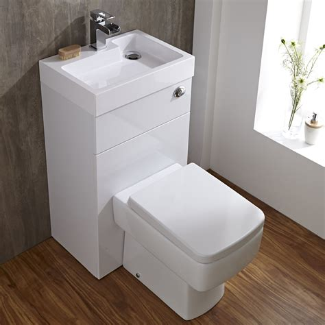 toilet and basin combined big ideas for small cloakrooms love chic living
