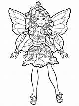 Coloring Pages Mustard Seed Fairies Plant Mystical Mcfaddell Phee Fairy Mythical Adult Template Christmas Mustardseed Pheemcfaddell Sheets Printable Books Popular sketch template